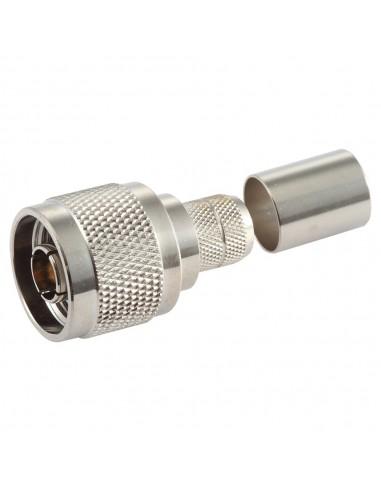 Conector N M crimpar LMR400