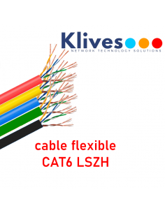 Cable Cat6 UTP Flex. 100m...
