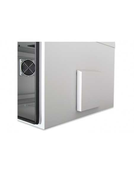 Rack exterior IP55 713x600x600 mm, color gris (RAL 7035)