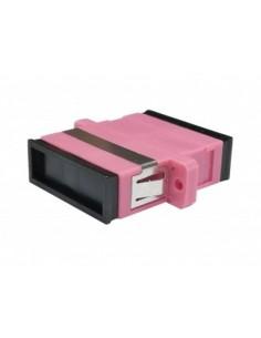 Adaptador F.O. Duplex Multimodo SC/UPC Violeta OM4