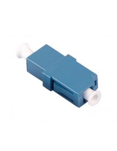 Adaptador fibra óptica simplex Monomodo LC/UPC Azul