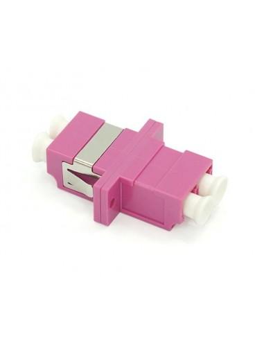 Adaptador F.O.D.Multimodo LC/UPC Violeta OM4