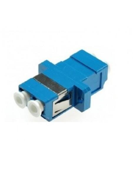 Adaptador F. O. Duplex Monomodo SC/UPC Azul ECONOMICO
