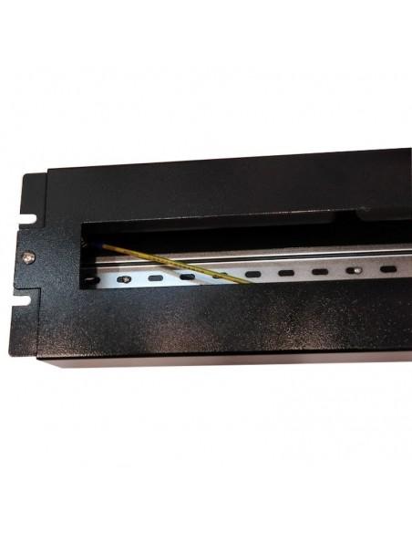 Panel de rack 3U para magnetotérmicos