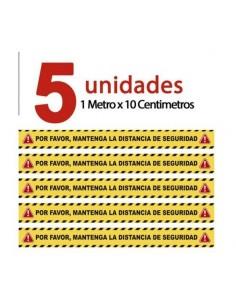 KIT DE 5 VINILOS ANTIDESLIZANTES
