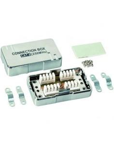 Caja aérea de conexión CAT6 UTP inserción LSA