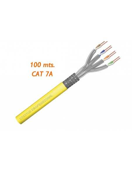 Cable CAT7A SFTP 100M LSZH 1500MHz 40 Gb.