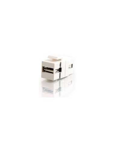 Adaptador H/H keystone de USB A/B