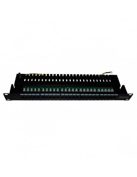 "PATCH PANEL 25 PUERTOS CAT.3 - RACK 19"" 1U"
