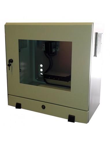 Armario IP54 para monitor con bandeja extraible